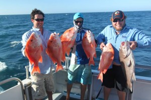 Mahi Mahi Charters - Coral Bay - Red Emperor