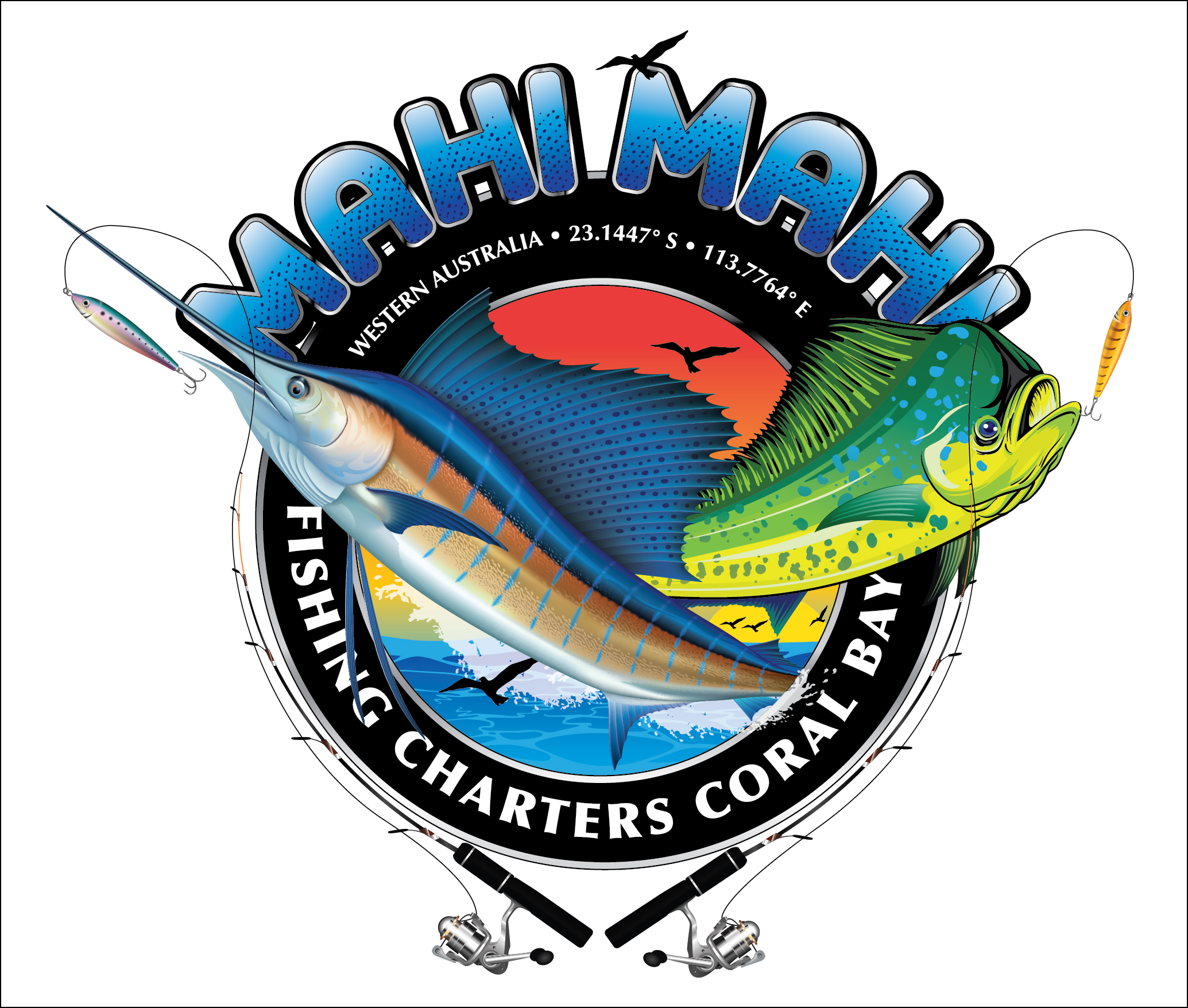 Special Events  Mahi Mahi Fishing Charters. Creative Advertising Signs Of Stroke. Catering Logo. Freedom Decals. Trump Pence Decals. Temple Stickers. Home Decor Murals. Smail Stickers. Pictograms Signs